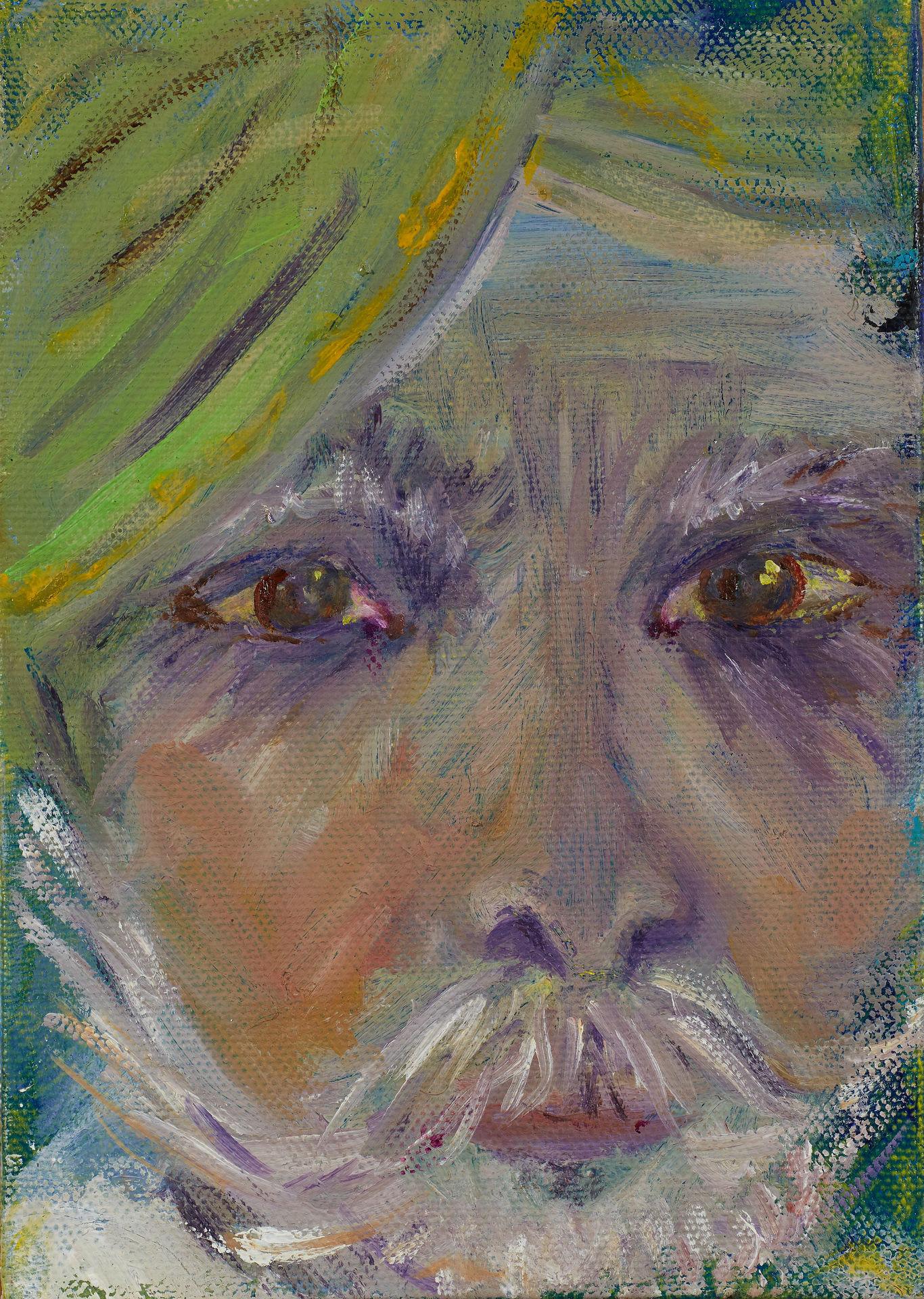 Gentleman in a Green Turban Rajasthan
