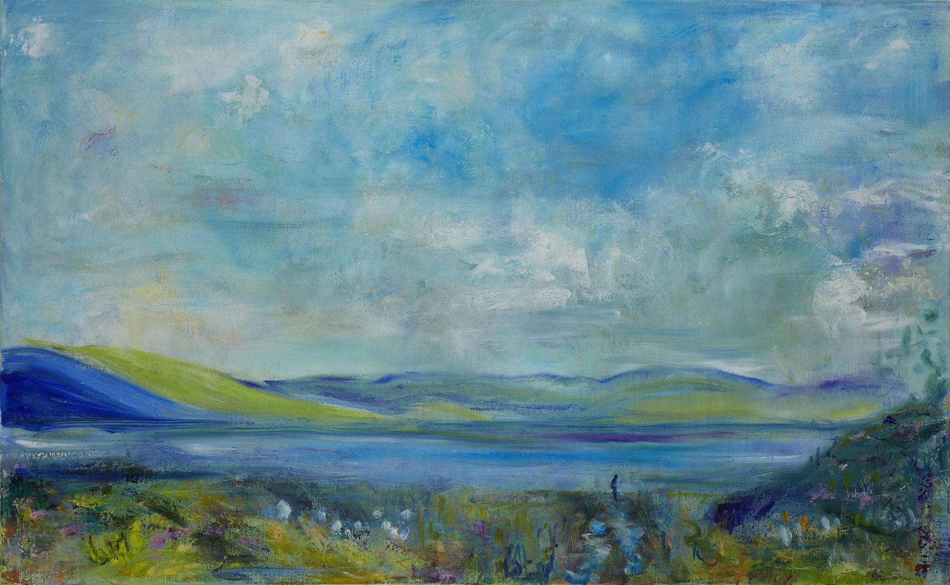 Overlooking Loch na Keale Mull